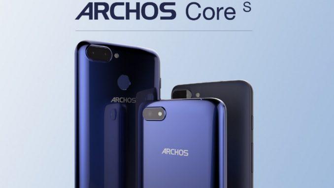 ARCHOS smartphone Core 55S, 57S e 60S