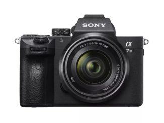 Sony mirrorless full-frame a7 III