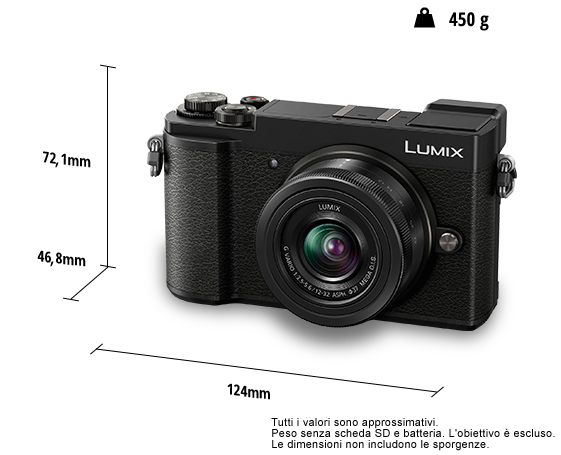 Lumix DC-GX9K - Macchina Fotografica Mirrorless