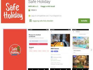 App Safe Holiday su Play Store